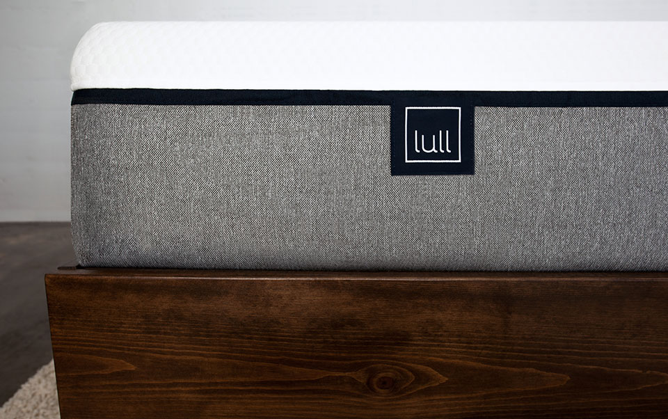 Lull's Three Layer Memory Foam Mattress